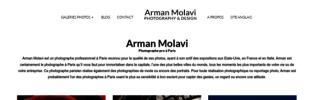 Le talent d'Arman Molavi, photographe professionnel