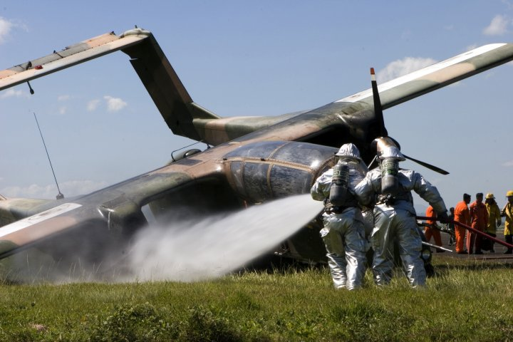 Crash d'un avion