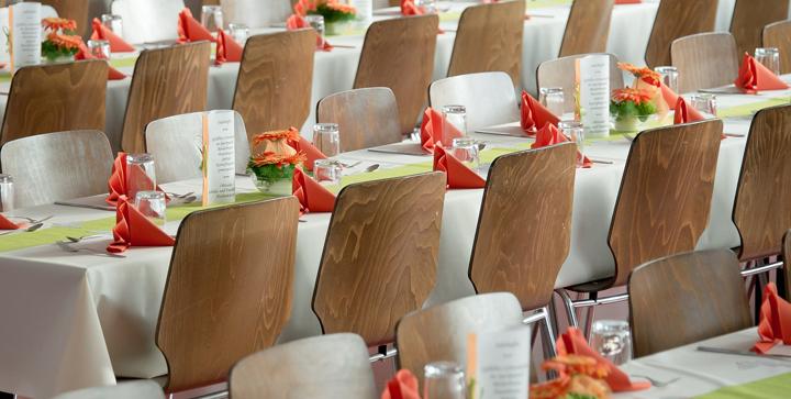 Organisation d'un banquet