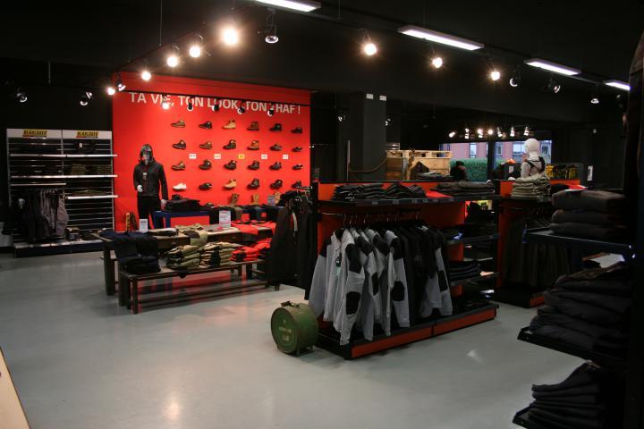 Boutique de vêtements de travail