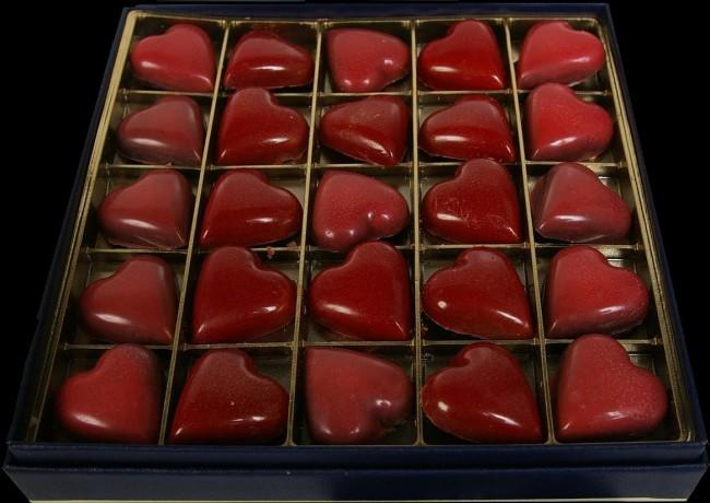 Un exemple de chocolat, par Castelanne