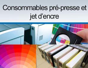 consoommables imprimerie pré-presse
