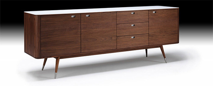 Buffet scandinave et enfilade design de naver collection for Meuble enfilade scandinave