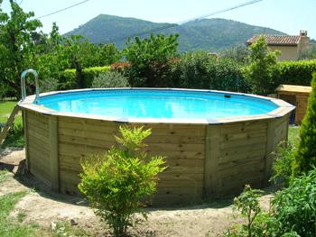 piscine hors sol bois ubbink