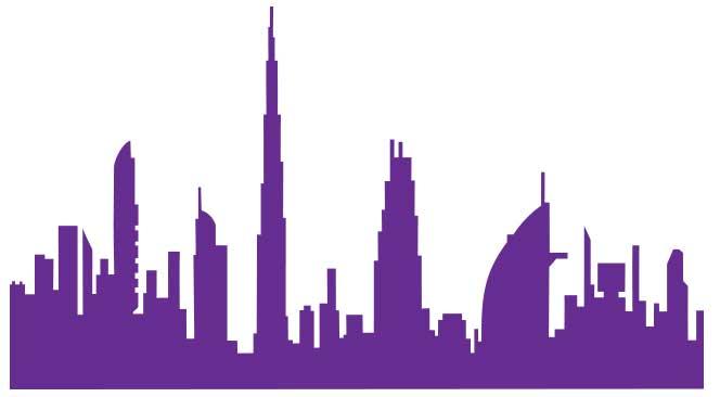 Dubaï en stickers
