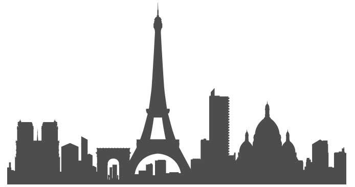 Paris en stickers