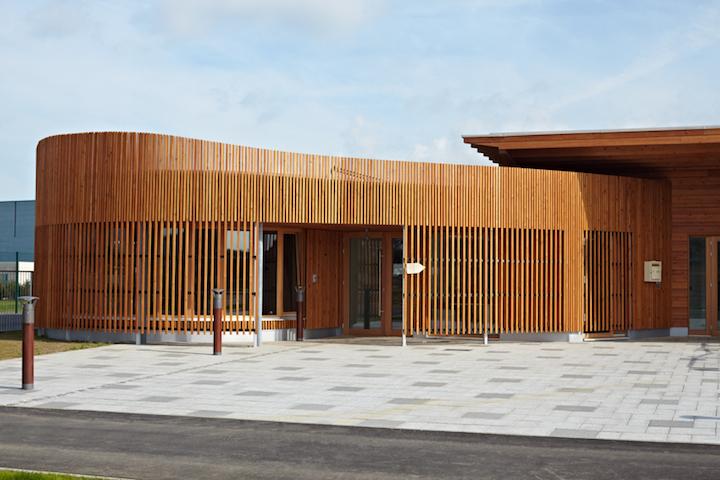 Construction avec une ossature en bois